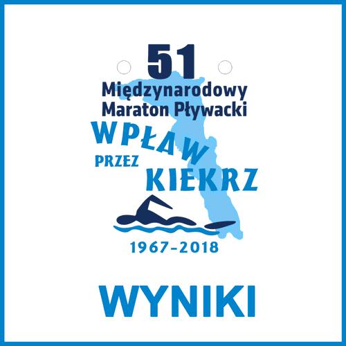 """51. """"Wpław przez Kiekrz"""" – wyniki"""